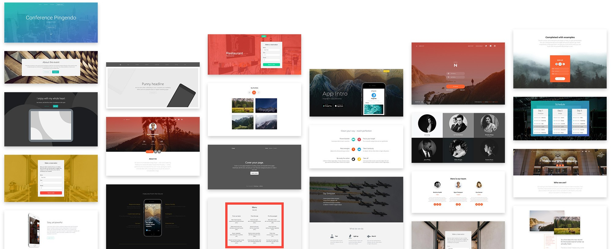 Templates - Free Bootstrap themes and UI kits